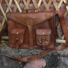 Leather Laptop Messenger Satchel Bag laptop briefcase