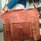 Handmade Vintage Leather Messenger Bag/satchel/tanned Leather Bag/Laptop Bag/Men Office Bag