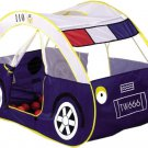 Child Baby Kids Play Tent Large Police Car Toy +100 Balls Game House Beach Tent