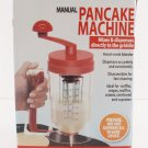 Hand-stirred Batter Dispenser Cup Cake Bakeware Distributor Pancake Machine DIY