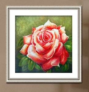 New 5D Cube/Square Full Crystal Diamond Drill DIY Painting Rose Flower