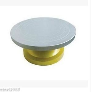 Cake Turn Table Rotating Swivel Plate Turntable Steel Decorating Num.	HL-080#