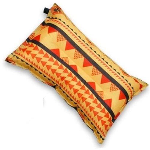 Color Orange - High-grade fabric Sensitivity Inflatable Air Pillow ZT-01#