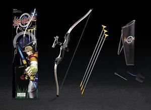 Black King Archery Shooting Bow & Arrow Set - 3 Suction Cup Arrows Toy for Kids