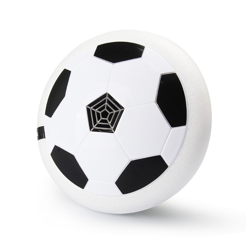 White Electronic Hover Ball Indoor Kids Floating Football Gliding Soccer Disc
