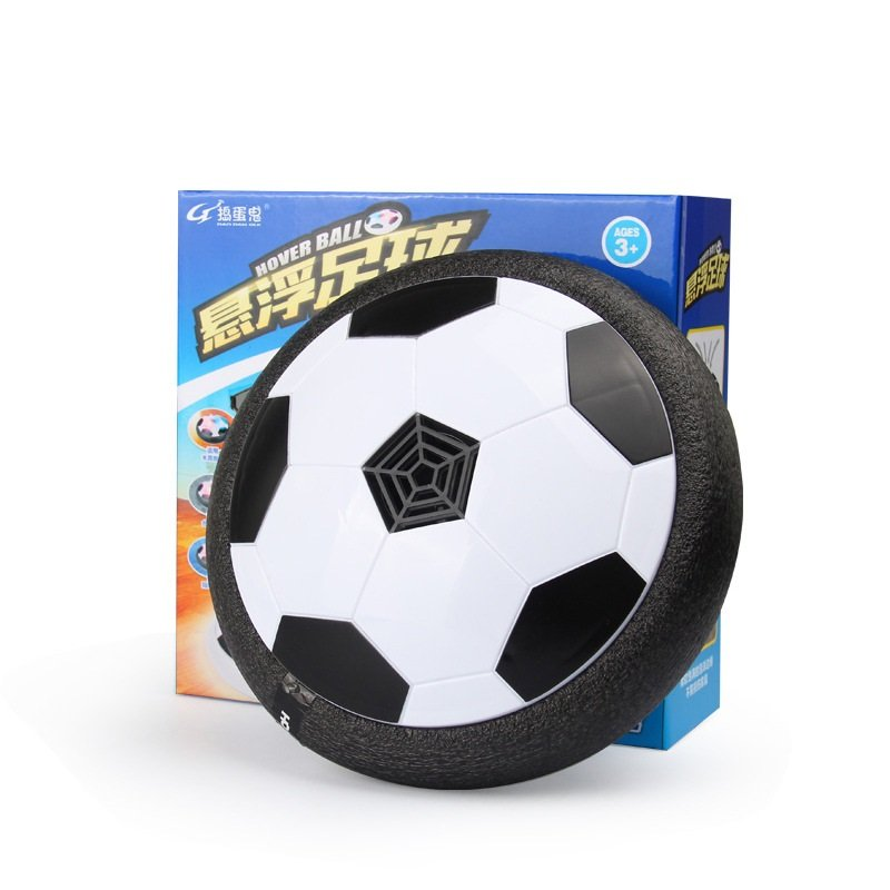Black Electronic Hover Ball Indoor Kids Floating Football Gliding Soccer Disc