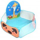 Blue Home Garden Kids Play Tent Children Basketball Pool Game birthday Gift