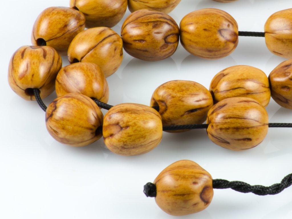 Nutmeg Seeds Greek Worry Beads Komboloi