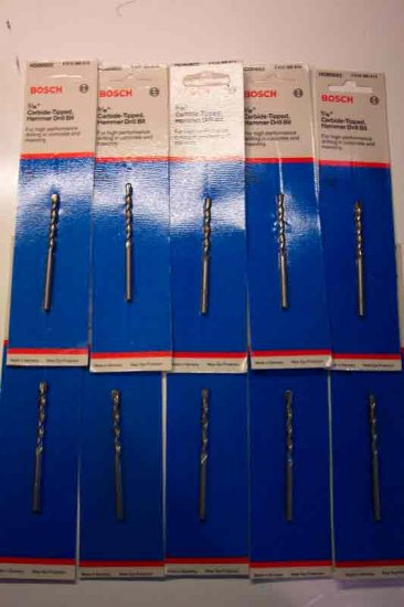 BSH-HDB0602 Bosch Carbide Hammer Drill Bit