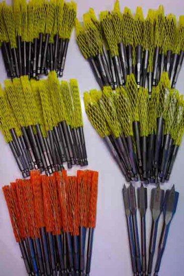 TL-16 100 Pc. Spade Paddle Bit Assortment - DeWalt