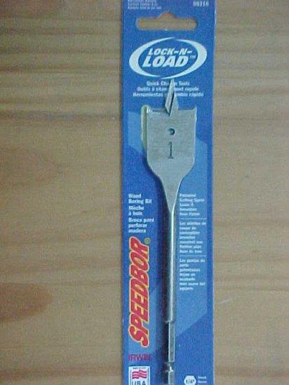 """TL-22i Iriwn Lock N' Load 1"""" Spade Bit"""