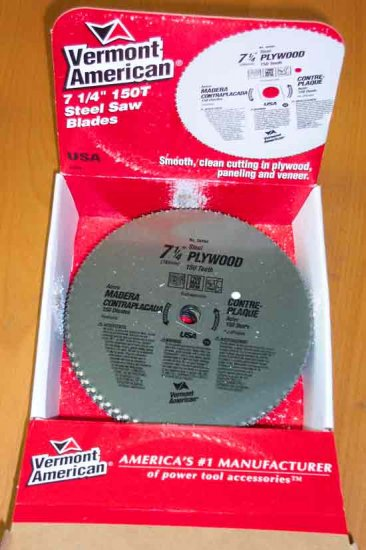 TLS-26494 Vermont American Plywood Saw Blade