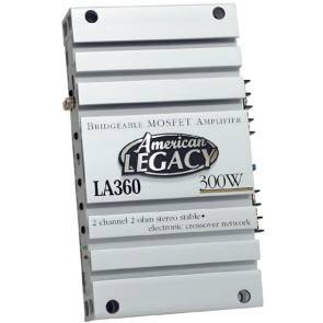 Cds-Legacy 2-Channel 300 Watts Max Bridgeable Amplifier-LA360