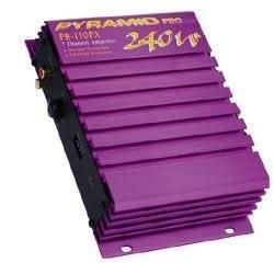 Cds-Pyramid 2 Channel 240 Watts Max Amplifier-PB110PX