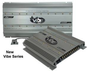 Cds-Lanzar -VIBE 2-Channel Amplifier 600 Watts Max-VIBE221