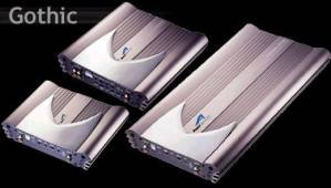 Cds-Power Acoustik -Gothic 2 Channel Amplifier 520 Watts Max-OV2520