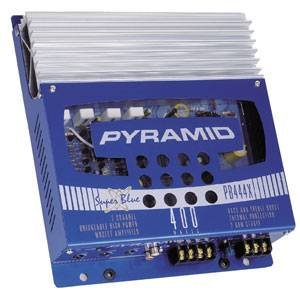 Cds-Pyramid 400 Watts Max 2-Channel Amplifier-PB444X