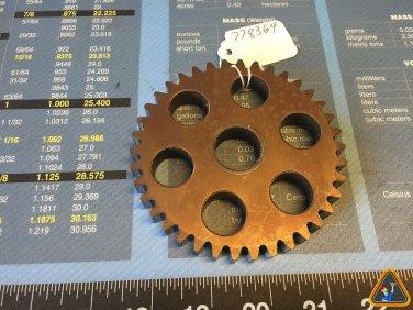 Tecumseh Peerless 206-545C Spur Gear 778364