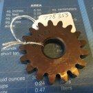 Tecumseh Peerless 206-545C Spur Gear 778353