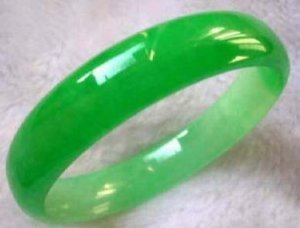 Charms emerald jade bracelet bangle