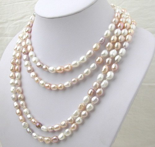 AMAZING Multicolor freshwater PEARL NECKLACE