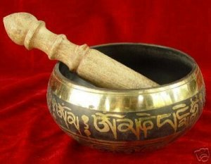 Wonderful Tibet Bronze Singing Bowl