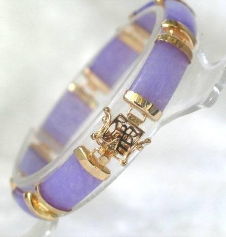 BEAUTIFUL blue jade bracelet