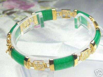 Beautiful Natural Green Jade Bracelet