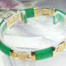 Beautiful Natural Green Jade Bracelet