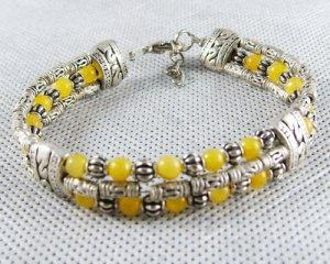 WHOLESALE Tibetan Silver TOPAZ BraceletS