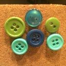 Aquamarine Button Thumb Tacks