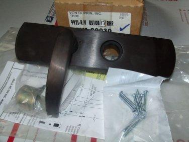 Von Duprin Trim 992L-17-R/V-RHR-US10B Oil Rubbed Bronze Satin 703 Exit Rim 98 99