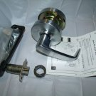 SARGENT 28 10G15-3 LL 26D EXIT OR COMMUNICATING LEVER LOCKSET SATIN CHROME