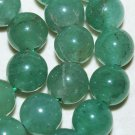 8mm Green Round Aventurine gemstone loose beads 15""