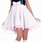 music legs Polka dot mouse Costume Size SM