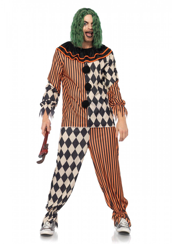 Leg Avenue Creepy Circus Clown Size XL