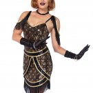 Sku 85545 2 PC Speakeasy Sweetie Costume Size Medium