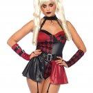 Leg Avenue 4 PC Deviant Darling Costume Size Medium