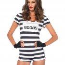 Leg Avenue 3 PC Convicted Cutie Costume Size Medium