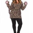 Leg Avenue Cozy Leopard Costume Size 1X/2X