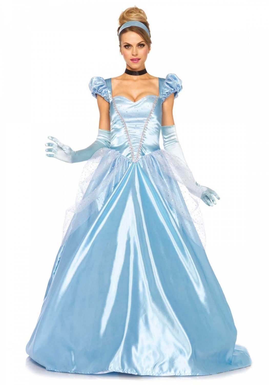 Leg Avenue 3PC. Classic Cinderella Costume Size M