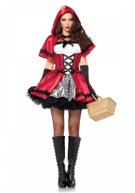 Leg Avenue Gothic Red Riding Hood Size M