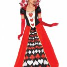 Leg Avenue Deluxe Queen of Hearts Size L