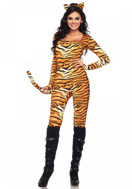 Leg Avenue Wild Tigress Womens Costume  Size ML