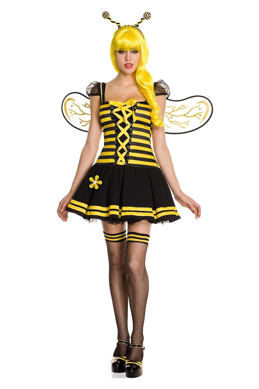 Music Legs Sexy Honey Bee Size SM