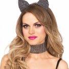 Cat ear headband & choker