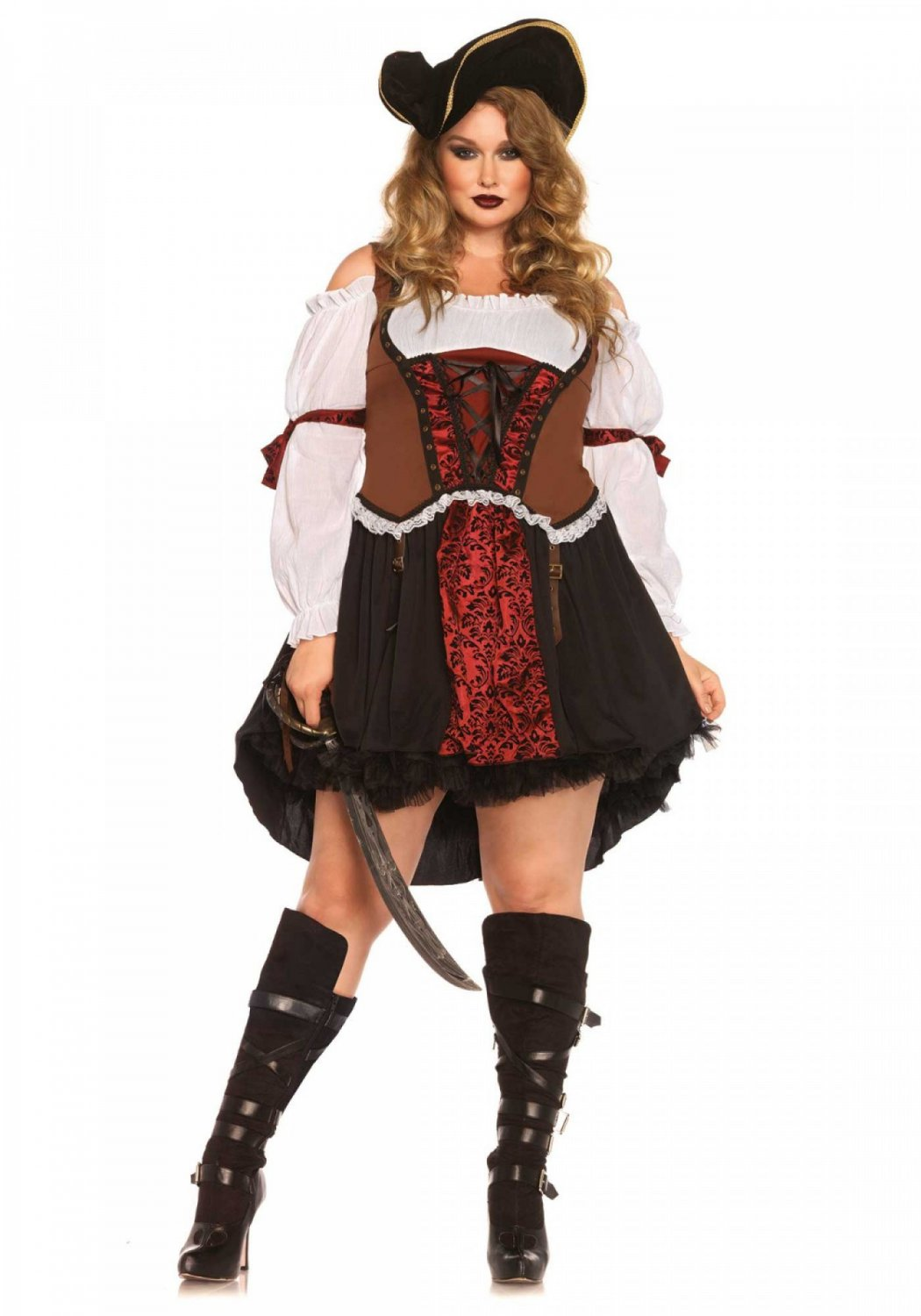 Ruthless Pirate Wench Size 1X-2X