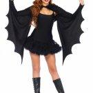 Cozy Bat Wing Shurg & Headband