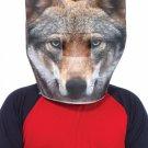 Foam Wolf Head Mask