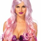 Sku A2778 Pink  Mermaid Ombre Wig